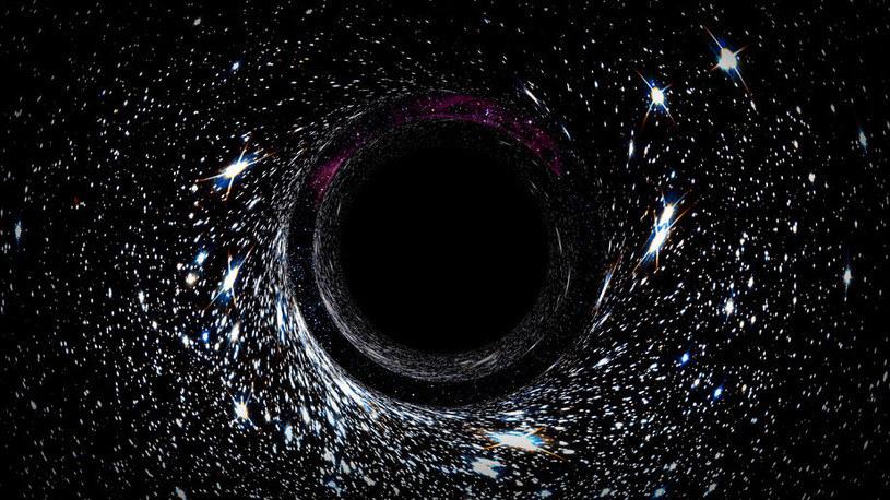 """Naukowcy z Kansas State University stworzyli """"molekularną czarną dziurę"""" /123RF/PICSEL"""