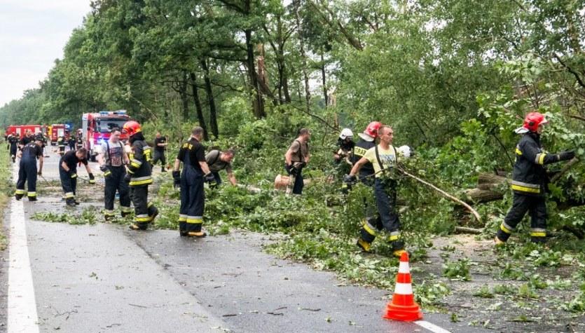 Nawałnice nad Polską. Usuwanie skutków