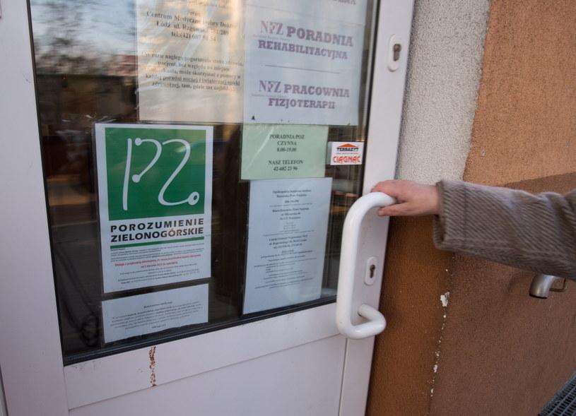 Nawet co czwarta przychodnia może być dziś zamknięta... /Grzegorz Michałowski /PAP