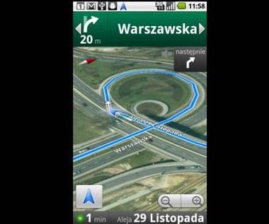 Nawigacja w Mapach Google wreszcie w Polsce