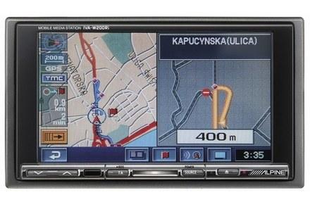 Nawigację najlepiej obsługiwać z multimedialnej stacji /