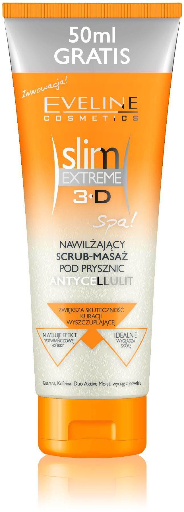 Nawilżający scrub-masaż pod prysznic Antycellulit /materiały promocyjne