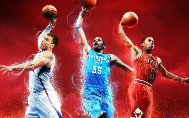 NBA 2K13 - motyw graficzny /Informacja prasowa