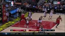NBA: Atlanta Hawks - Toronto Raptors 95:87. Skrót meczu