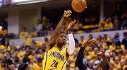 NBA: Indiana Pacers - Miami Heat 107:96 w 1. meczu finału Konferencji Wschodniej