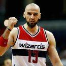 NBA - porażka Washington Wizards. Dobry występ Marcina Gortata