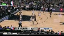NBA: San Antonio Spurs - Golden State Warriors 86:92. Skrót meczu