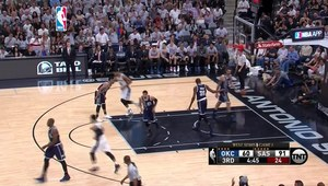 NBA: San Antonio Spurs - Oklahoma City Thunder 124:92. Skrót meczu