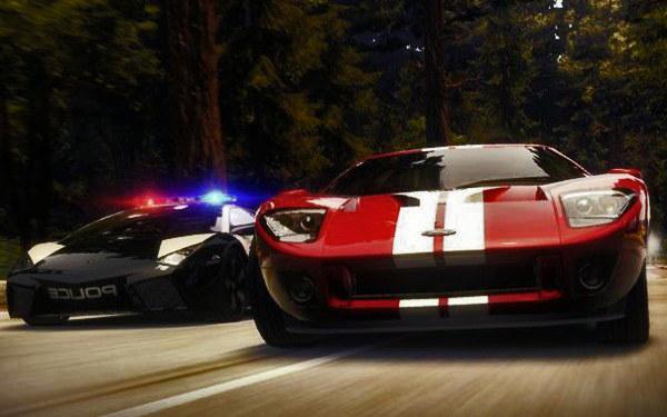 Need for Speed: Hot Pursuit - motyw graficzny /Informacja prasowa