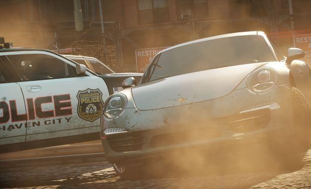 Need for Speed: Most Wanted - motyw graficzny /Informacja prasowa
