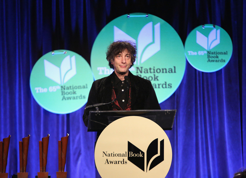 Neil Gaiman /Robin Marchant /Getty Images