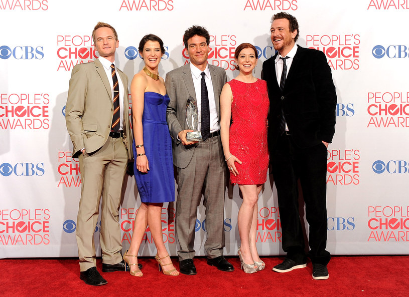 Neil Patrick Harris, Cobie Smulders, Josh Radnor, Alyson Hannigan, Jason Segel /Jason Merritt /Getty Images