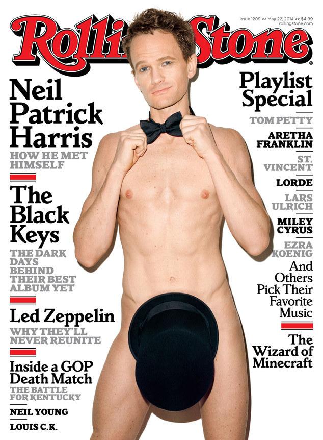 """Neil Patrick Harris na okładce """"Rolling Stone"""" /materiały prasowe"""