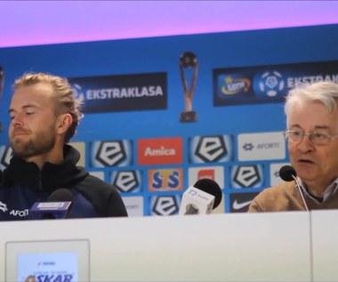 Nenad Bjelica i Christian Gytkjaer o losowaniu grup MŚ w Rosji. Wideo