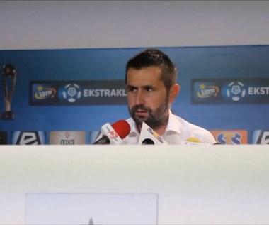 Nenad Bjelica, trener Lecha Poznań, o absencji Darko Jevticia