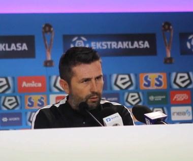 Nenad Bjelica, trener Lecha Poznań, przed inauguracją sezonu Ekstraklasy z Sandecją. WIDEO