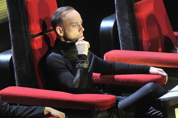 "Nergal na planie ""The Voice Of Poland"" /AKPA"