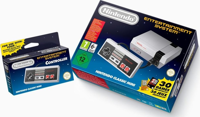 NES Mini Classic /materiały prasowe