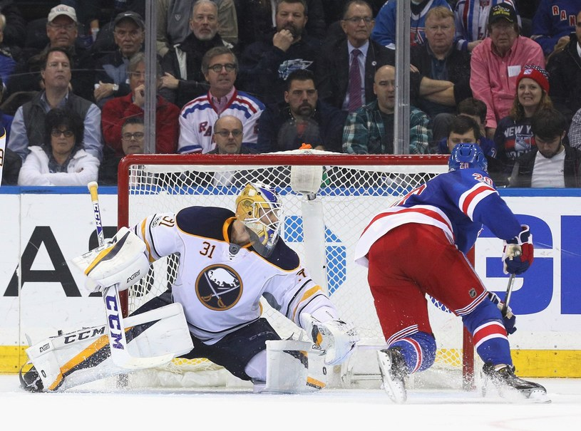 New York Rangers kontra Buffalo Sabres /AFP