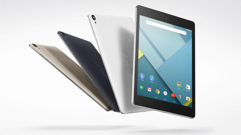 Nexus 9 - nowy supertablet z systemem Android 5.0 /materiały prasowe