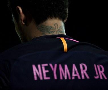 Neymar lepszy od Messiego. Wideo
