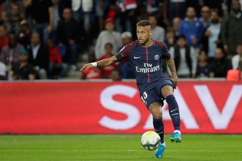 Neymar podczas meczu z Tuluzą /AFP