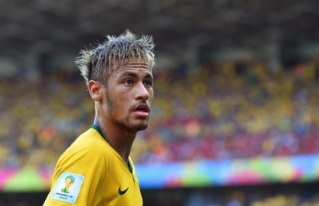 Neymar /PAP/EPA/PETER POWELL /PAP/EPA