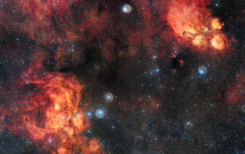 NGC 6334 i NGC 6357 /materiały prasowe