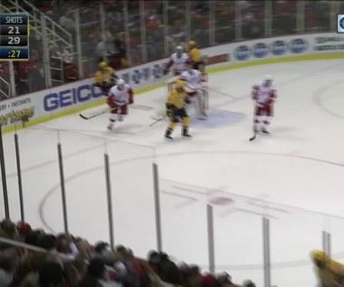 NHL: Detroit Red Wings - Nashville Predators. Skrót meczu
