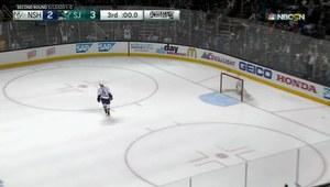 NHL: San Jose Sharks - Nashville Predators 3-2. Skrót meczu