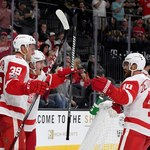 NHL. Vegas Golden Knights - Detroit Red Wings 3-6