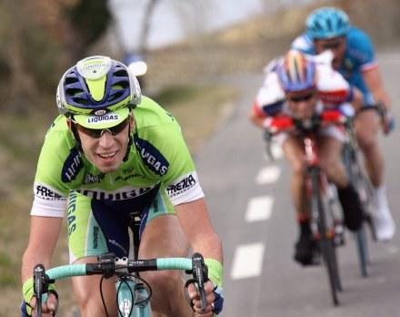 Nibali w klasyfikacji końcowej zajął trzecie miejsce /AFP