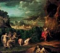 Niccolo dell'Abbate, Porwanie Prozerpiny, 1560 /Encyklopedia Internautica