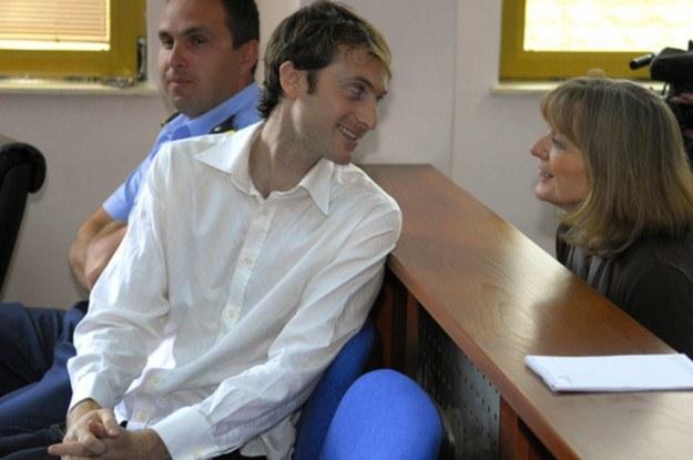 Nicholas Morley podczas rozprawy /AFP