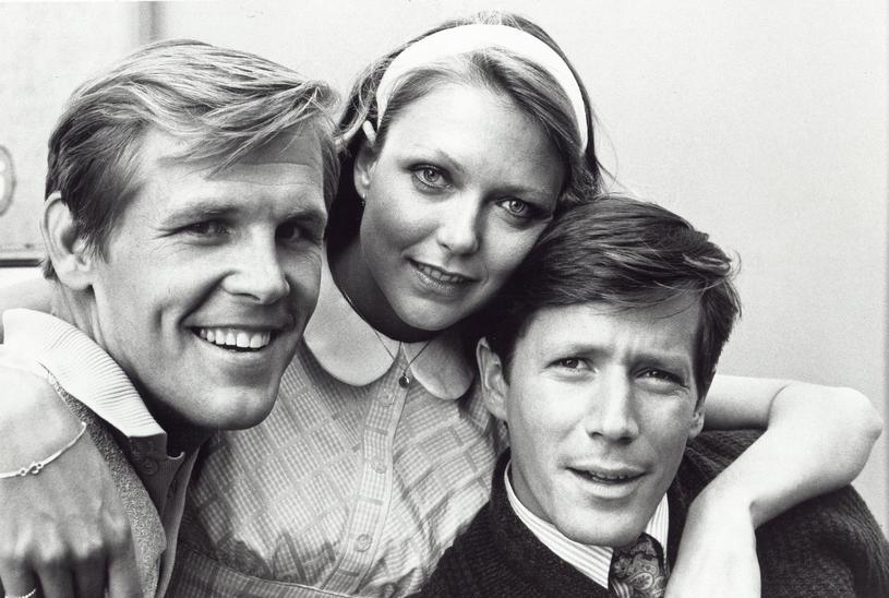 """Nick Nolte, Susan Blakely i Peter Strauss w serialu """"Pogoda dla bogaczy"""" (1976) /East News"""