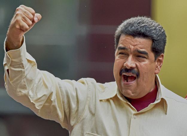 Nicolas Maduro, prezydent Wenezueli /AFP