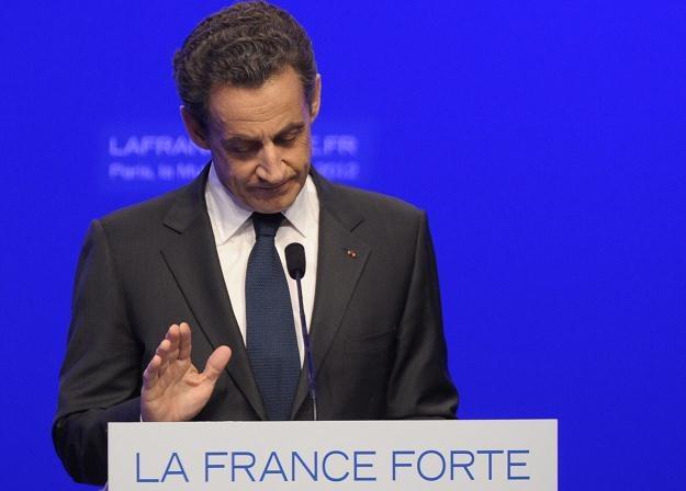 Nicolas Sarkozy po wyborczej porażce /PAP/EPA