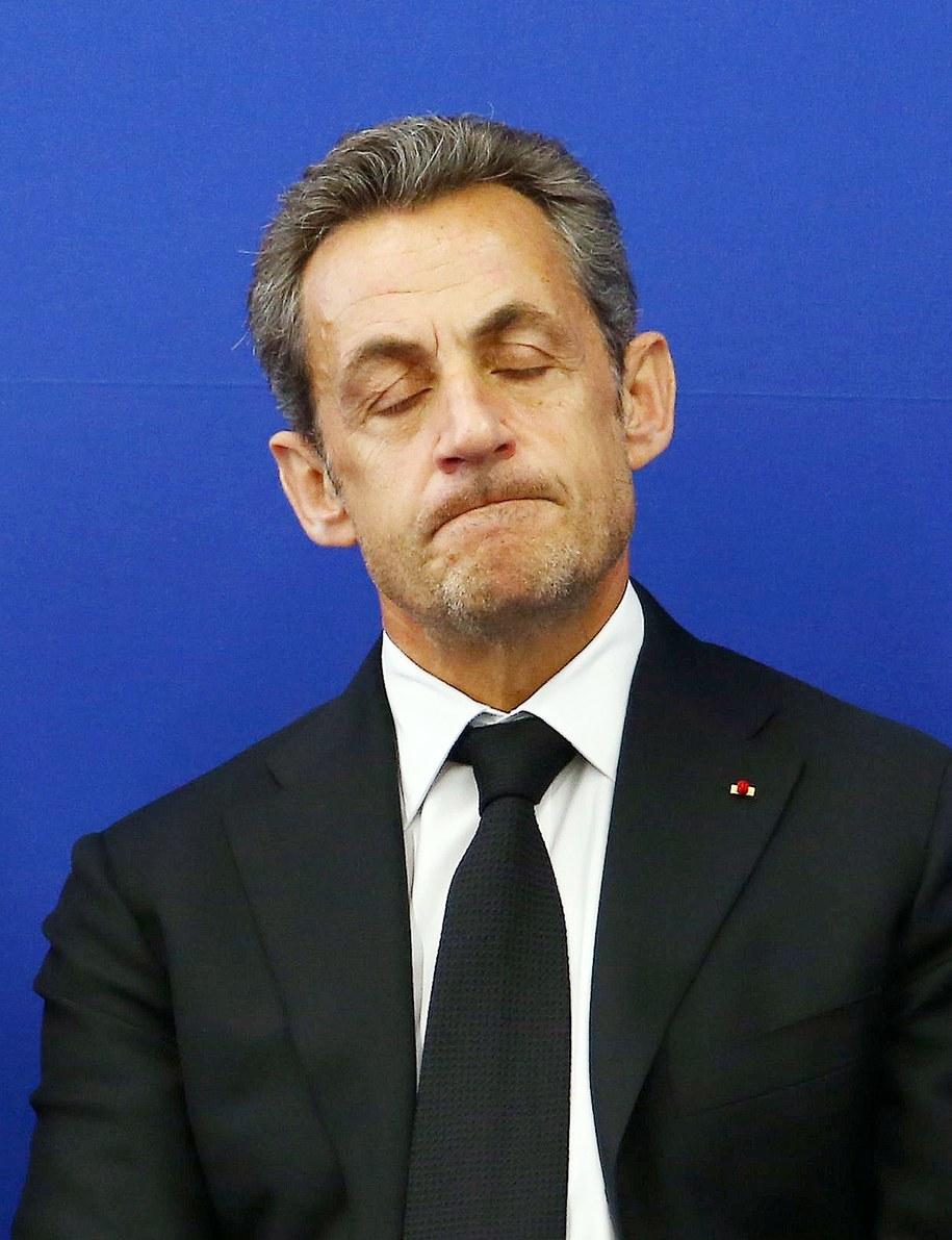 Nicolas Sarkozy /Abaca /PAP