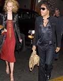 "Nicole Kidman i Lenny Kravitz (fot. ""The Sun"") /INTERIA.PL"