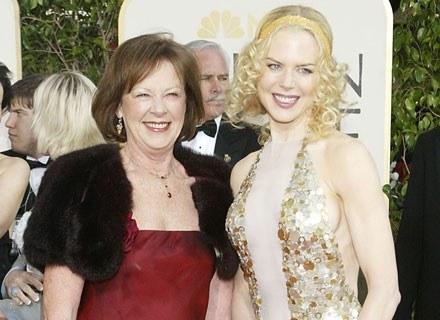 Nicole Kidman z mamą /Getty Images/Flash Press Media