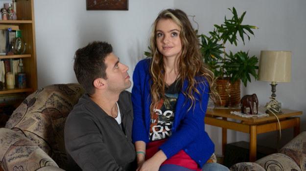 Nicole (Maria Niklińska) i Mikołaj (Krzysztof Wieszczek) /Agencja W. Impact