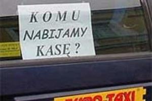 Nie będzie tańszych kas w taksówkach!
