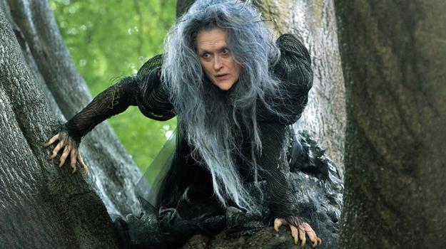 """Nie do poznania! Meryl Streep w scenie z filmu """"Tajemnice lasu"""" /materiały dystrybutora"""