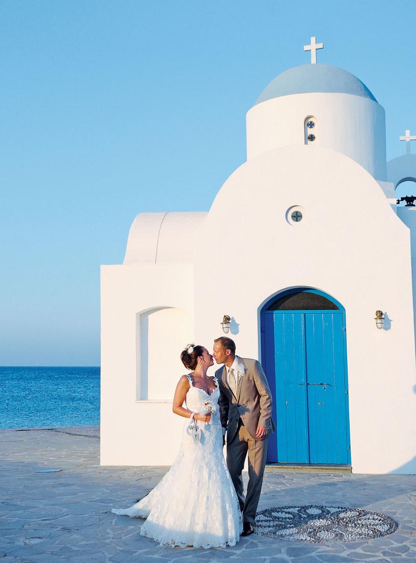 """Nie można wyobrazić sobie lepszego miejsca na wypowiedzenie sakramentalnego """"tak""""/Cypryjska Organizacja Turystyczna /materiały prasowe"""