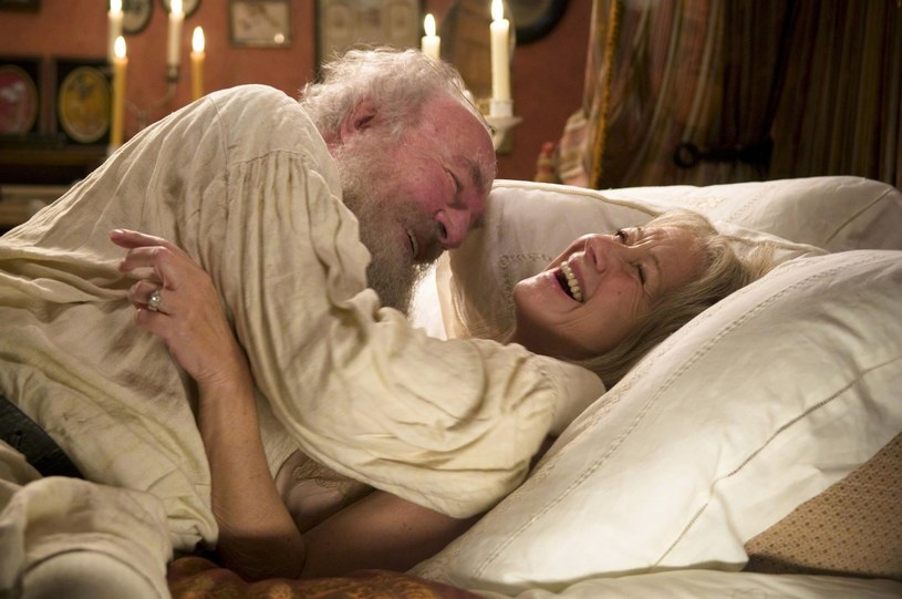 """Nie nuka kobiet i alkoholu? Christopher Plummer jako Lew Tołstoj w """"Ostatniej stacji"""" /East News"""