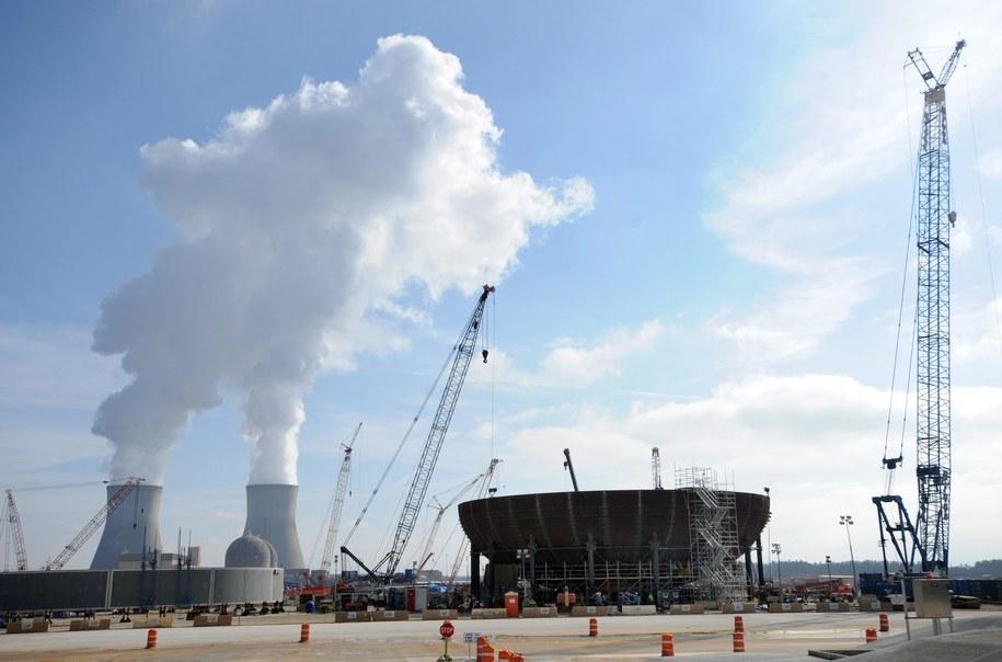 Nie podano, które elektrownie zostały zaatakowane /ERIK S. LESSER /PAP/EPA