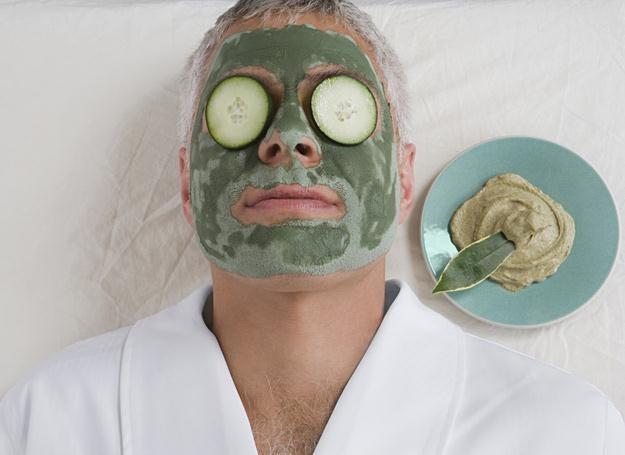 Znalezione obrazy dla zapytania facet u kosmetyczki