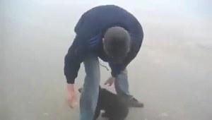 Nie tylko przeżył atak niedźwiedzia, ale miał jeszcze przy tym sporo frajdy