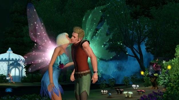 Nie tylko Simsy z tego świat mają prawo do okazywania uczuć /Informacja prasowa