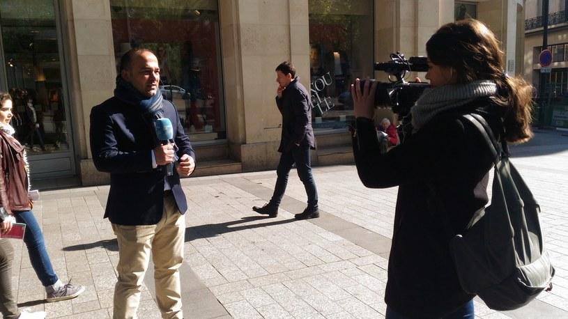 Nie uważam, by w Paryżu zapanował strach - mówi Interii dziennikarz arabskiej anteny France24 (na zdjęciu) /Michał Michalak /INTERIA.PL